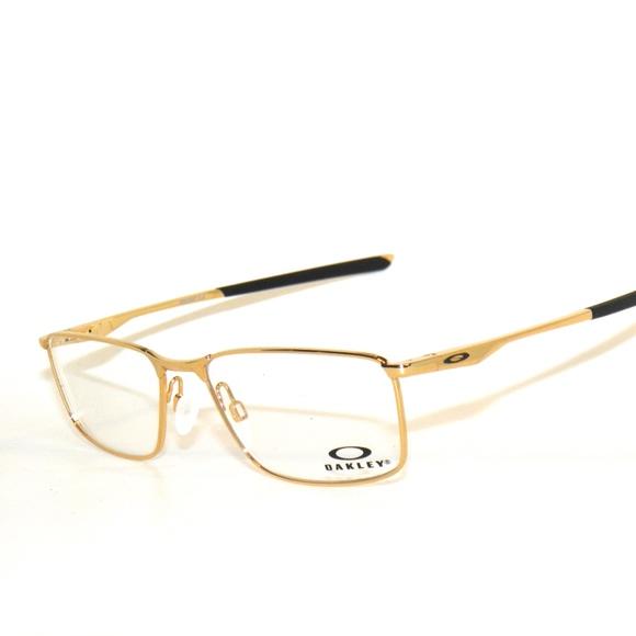 62f320091b Oakley Socket 5.0 3217-05 55 Gold Eyeglasses